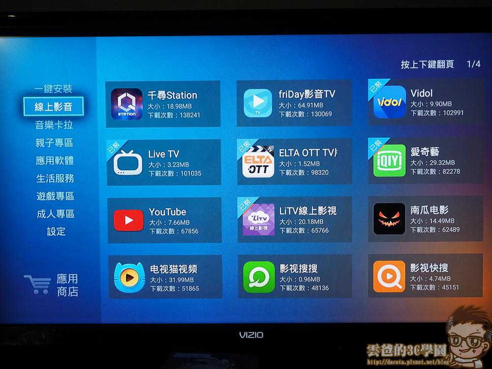 OVO電視盒B5 4K新規版- 開箱、評測-5221084