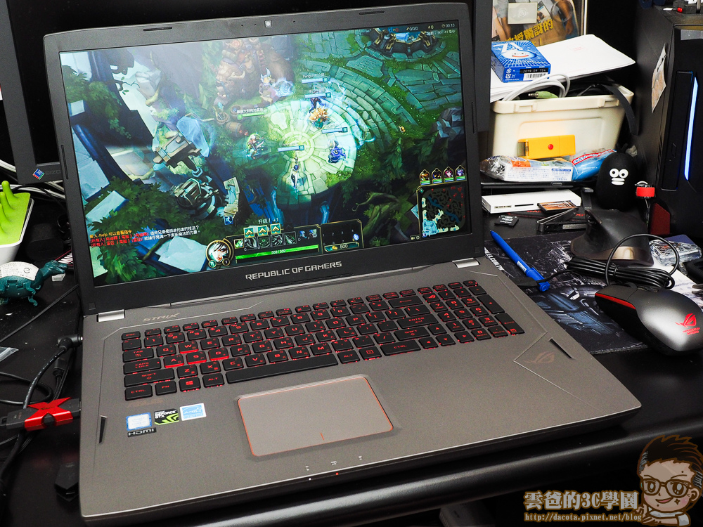 開箱實測 - ASUS ROG STRIX GL702VS 17 吋電競大筆電-6061221