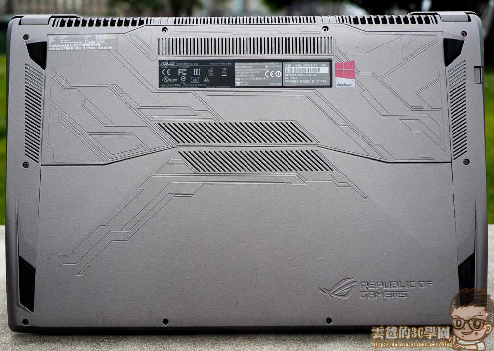 開箱實測 - ASUS ROG STRIX GL702VS 17 吋電競大筆電-6051138
