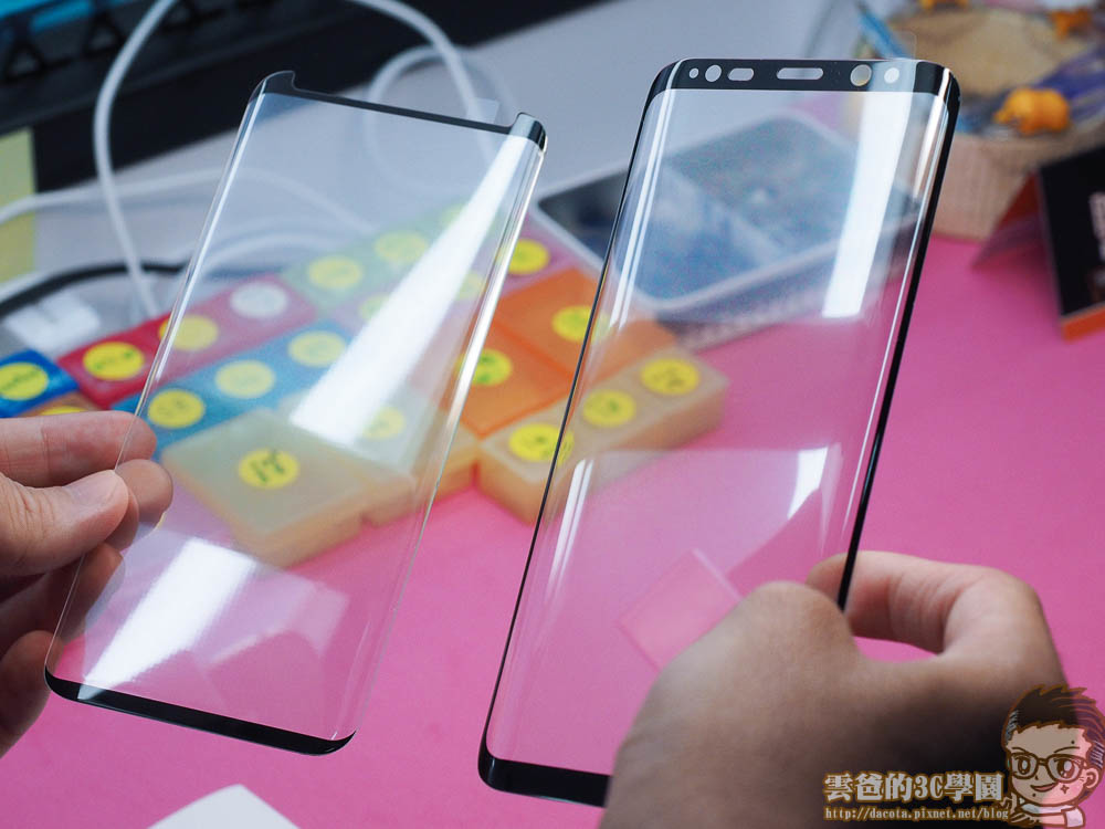 Galaxy S8 全機包膜 + 滿版玻璃保護貼 摩斯密碼-4241394