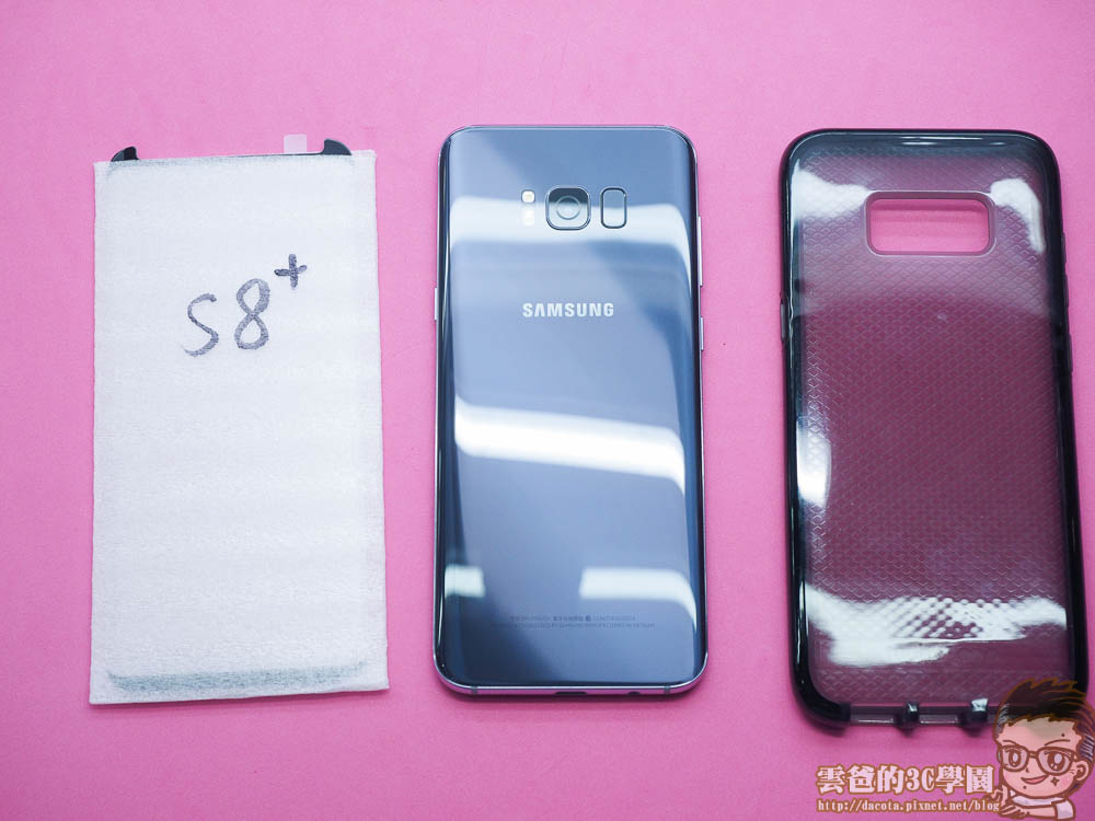 Galaxy S8 全機包膜 + 滿版玻璃保護貼 摩斯密碼-4241360