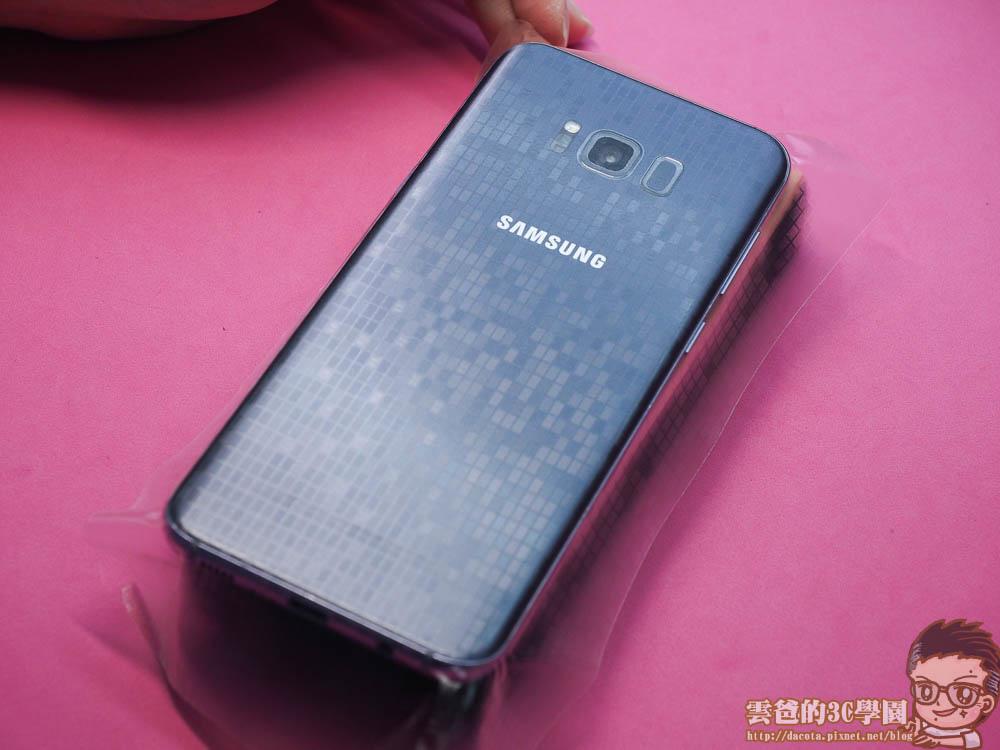 Galaxy S8 全機包膜 + 滿版玻璃保護貼 摩斯密碼-4241410