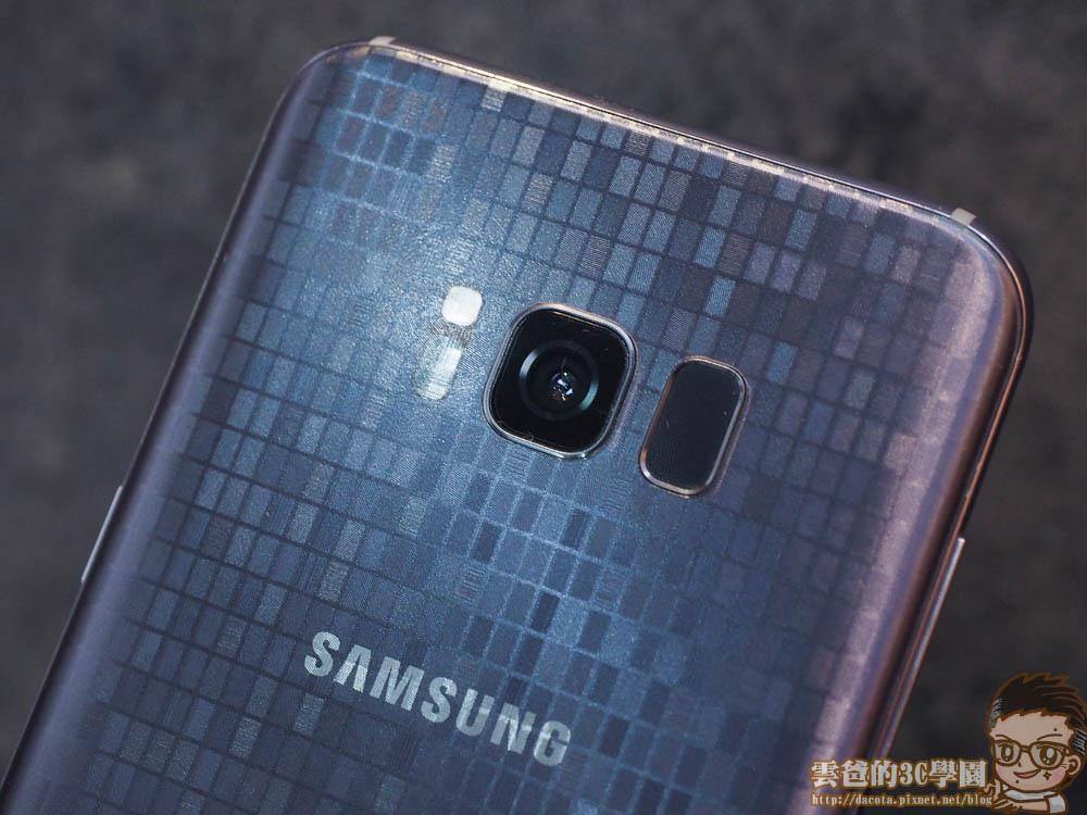 Galaxy S8 全機包膜 + 滿版玻璃保護貼 摩斯密碼-4241449