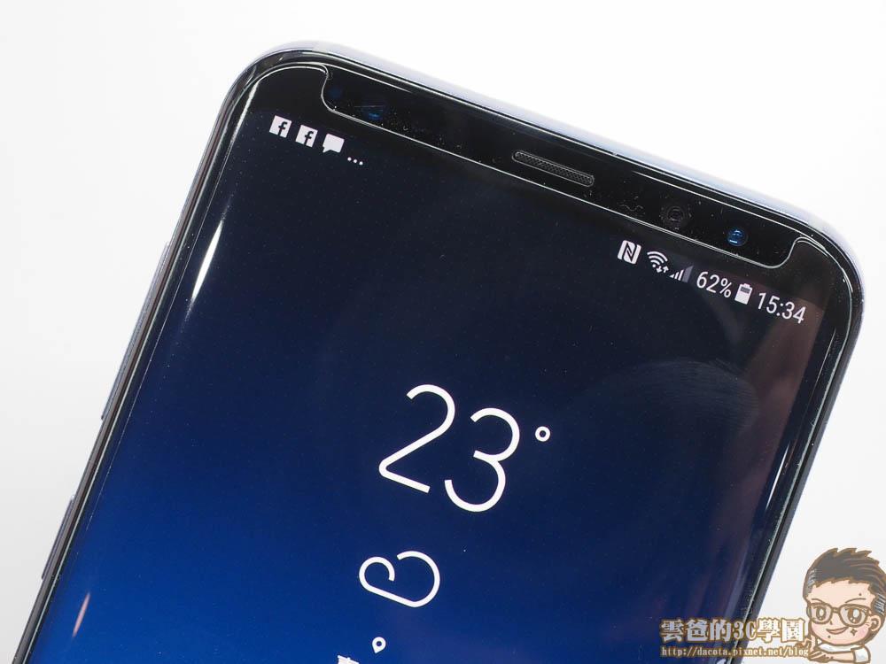 Galaxy S8 全機包膜 + 滿版玻璃保護貼 摩斯密碼-4241467