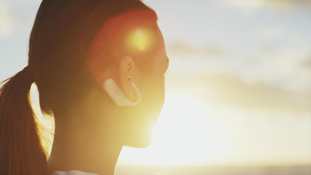 Xperia™ Ear Xperia Ear「Open Style Concept」立體聲智慧藍牙耳機,重新定義聆聽通訊體驗,聆聽音樂可同時聽見週遭環境聲響,並提供語音及頭部動作指令個人助理功能,創造創新溝通體驗(2)