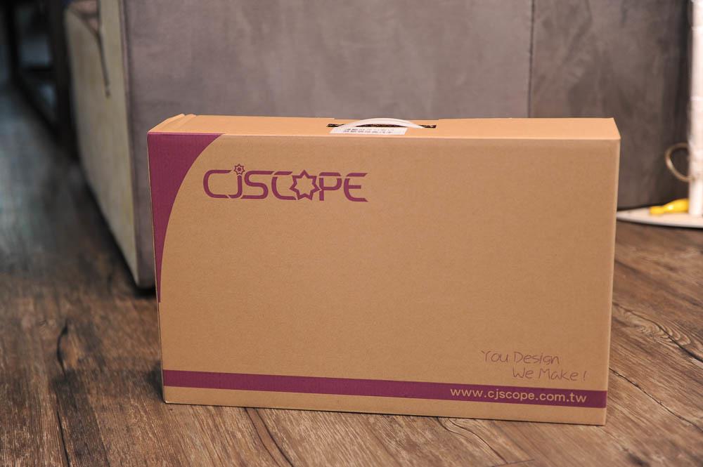 CJScope QX-350GX 開箱、CP值最高,擴充性能強-7