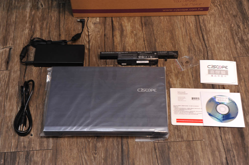 最高CP王- CJScope QX-350 GX 客製化筆電-12