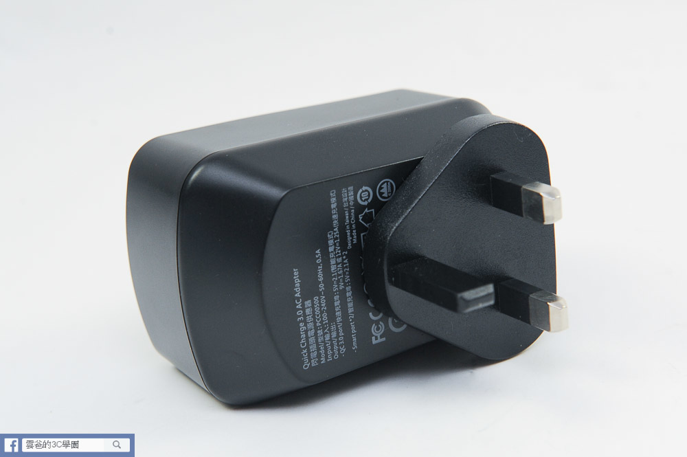 [開箱]可折疊、免拆換的萬用充電器 - norm+  QC3.0閃電插頭-33