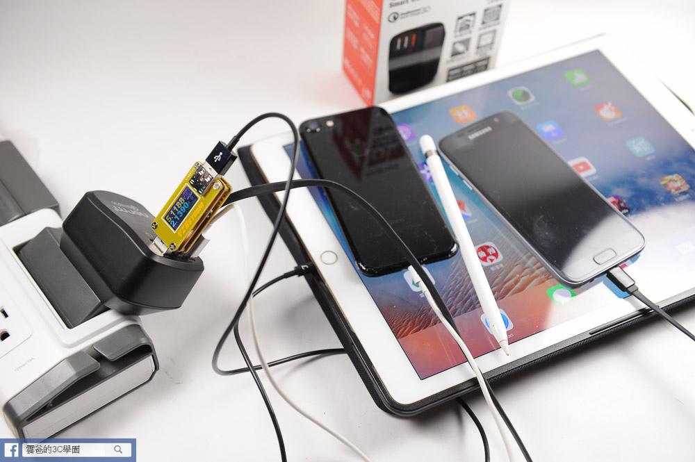 [開箱]可折疊、免拆換的萬用充電器 - norm+  QC3.0閃電插頭-60