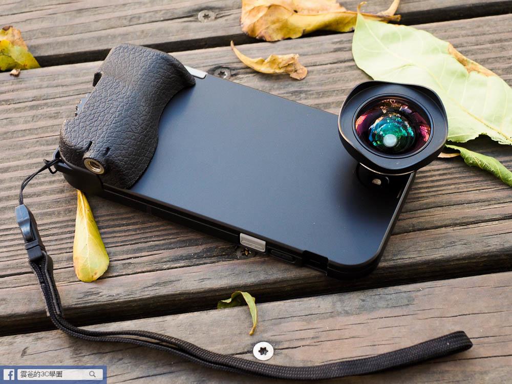 開箱! SNAP!7手機殼 搭配 HD高畫質廣角鏡-141