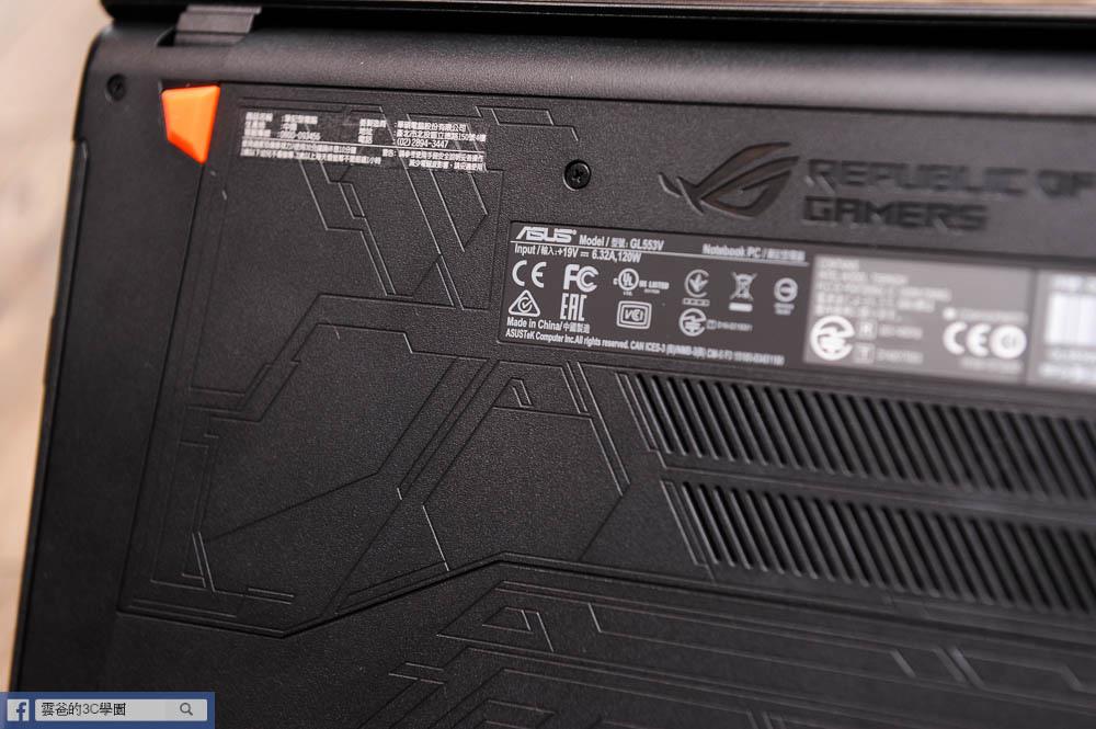 搭載全新GTX1050Ti 電競顯卡 - ROG Strix GL553VE 黑魂版-62