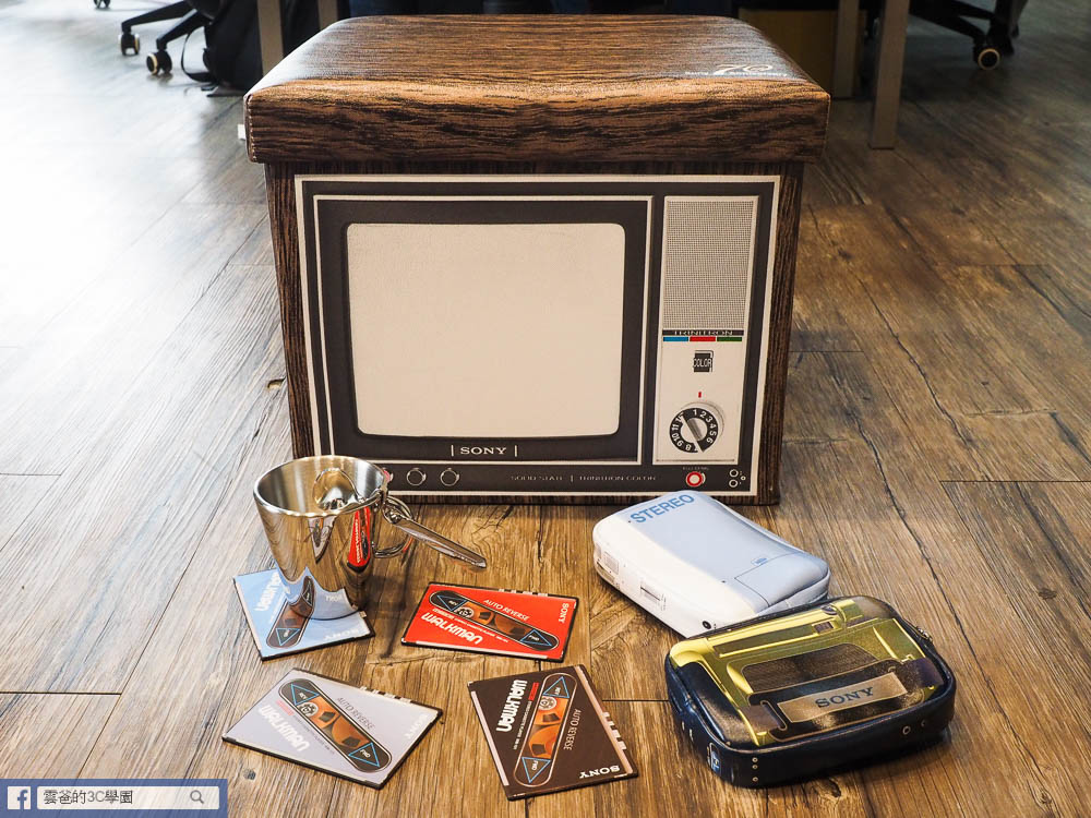 Sony 70週年特麗霓虹收納椅凳-33