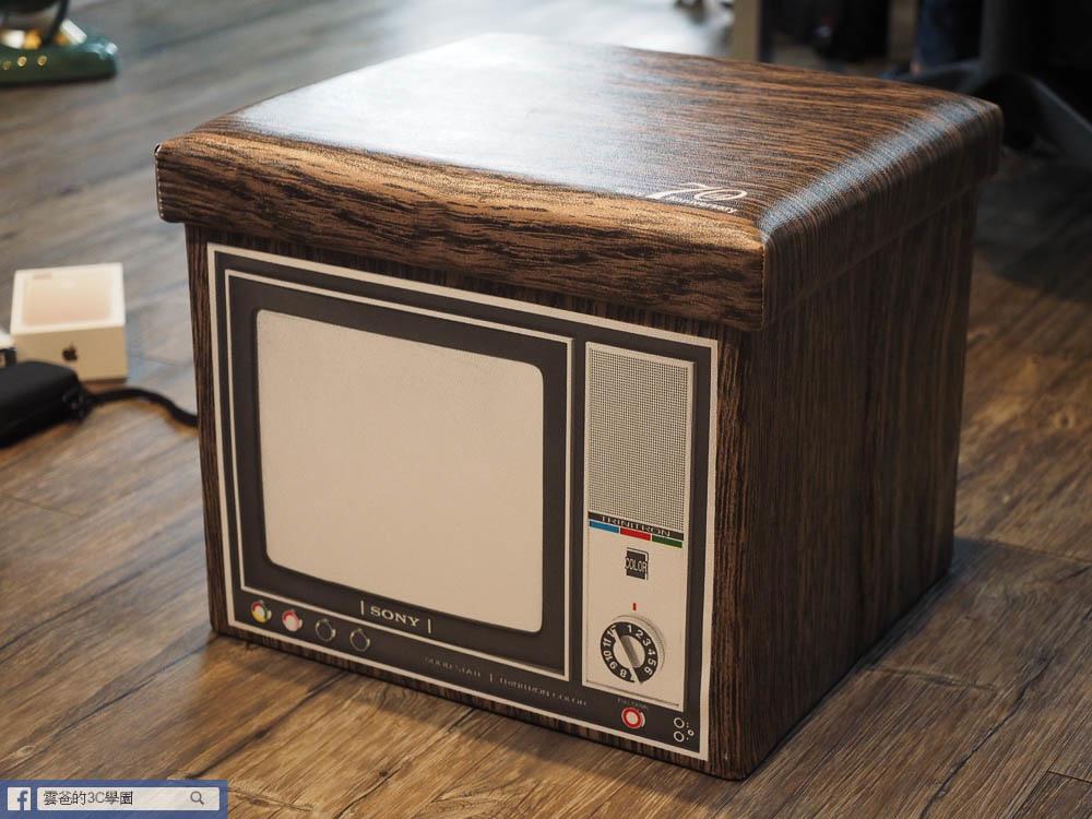 Sony 70週年特麗霓虹收納椅凳-9