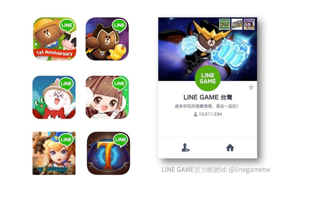 【圖二】於六款指定遊戲中的公告找到關鍵字,並至「LINE GAME 台灣」官方帳號輸入關鍵字,即可抽獎