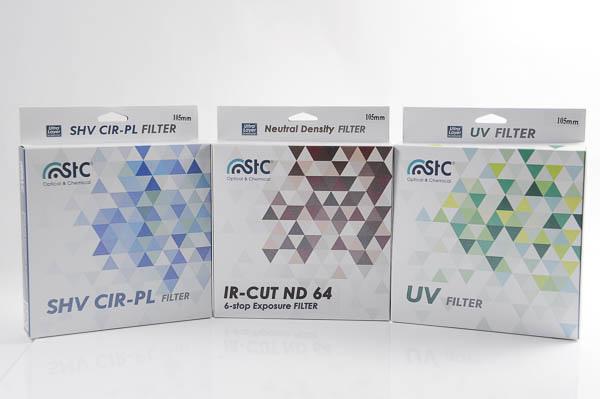 OLYMPUS 7-14 mm F2.8 PRO 專用遮光罩+UV 保護鏡、 STC 105mm CPL 偏光鏡、ND64 減光鏡 -29