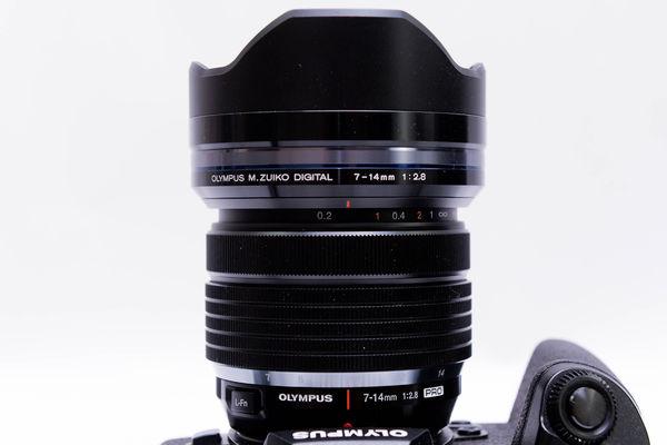 開箱-OLYMPUS 7-14mm F2.8 PRO-55
