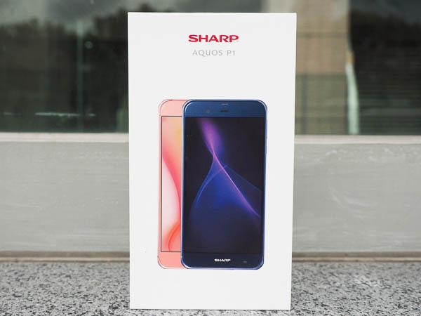 SHARP AQUOS P1 開箱-2