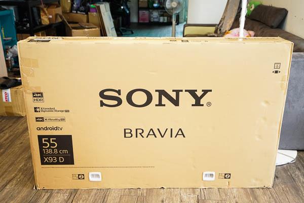 Sony Brivia 4K HDR電視(55X9300D)-1