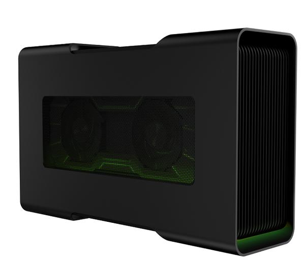 1. Razer Core 為全球首款隨插即用 Thunderbolt™ 3 外接顯示卡擴充盒