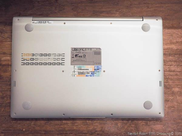 CJScope Z-230開箱,最像Macbook Aair的筆電-58