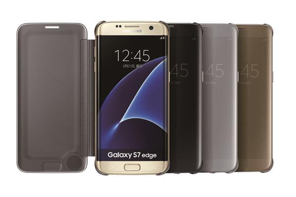 Galaxy S7系列專屬配件「全透視感應皮套」