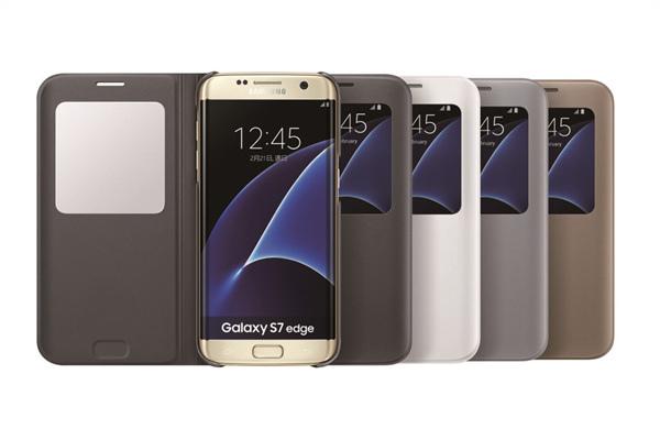 Galaxy S7系列專屬配件「透視感應皮套」