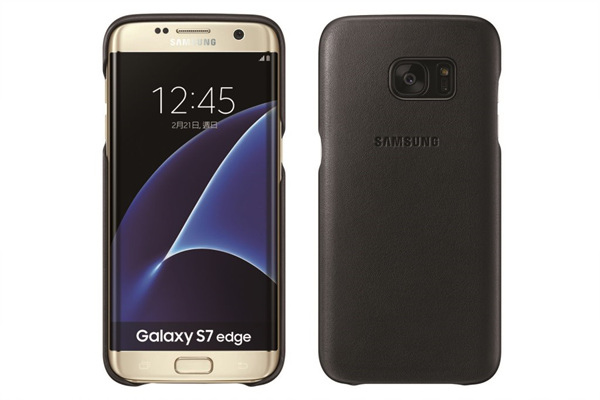 Galaxy S7系列專屬配件「經典真皮革皮套」