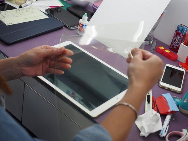 imos滿版玻璃保護貼for ipad Pro -55