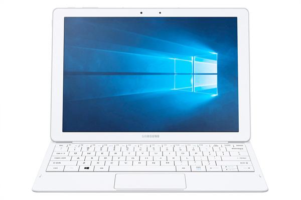 Galaxy TabPro S隨機配備全尺寸鍵盤,大幅提升使用性