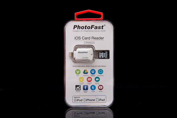 PhotoFast 蘋果microSD讀卡機-7