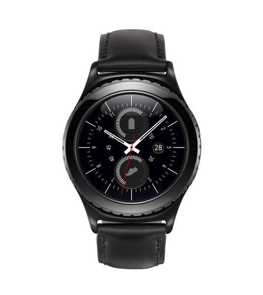 Samsung Gear S2「less is more」的設計理念,融合了經典的圓形幾何外觀,象徵著完美的平衡