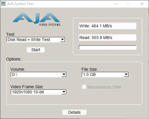 AJASystemTestWin  HD-10Bit 1GB.jpg