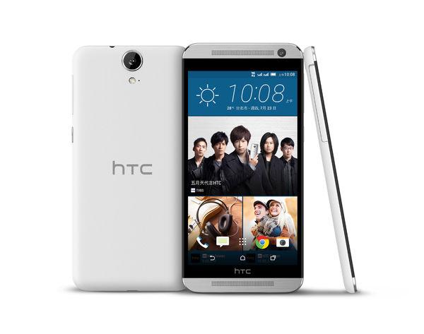 HTC One E9 dual sim 銀鑽白