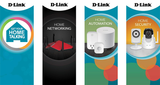 D-Link 2015 CES