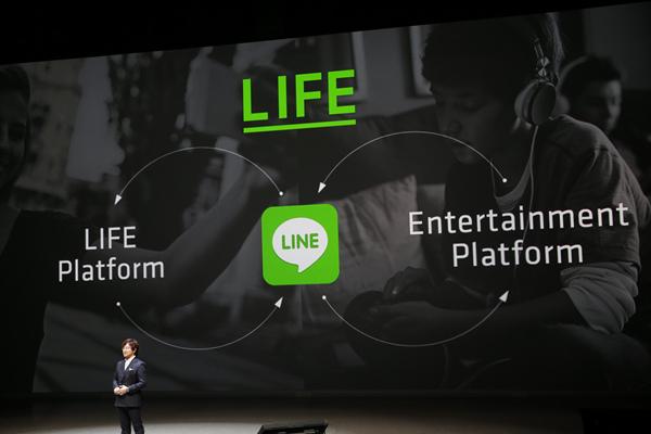 【圖三】LINE未來將以「生活」為主軸提供新服務,以生活平台與娛樂平台創造全新生活體驗