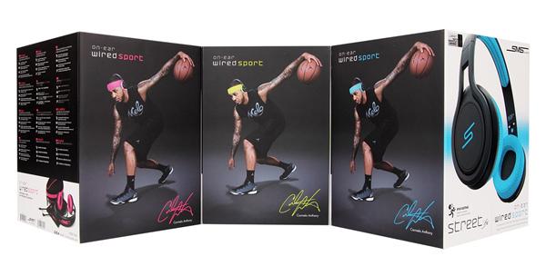 由NBA球星-「甜瓜」安東尼(Carmelo Anthony)代言